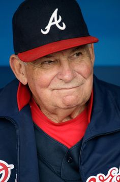 Bobby Cox - Atlanta Braves Manager from 1978 - 1981, then 1990 - 2010.