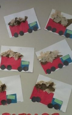 Truck craft idea for kids | Crafts and Worksheets for Preschool,Toddler and Kindergarten