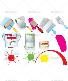 Paint and tools $4.00
