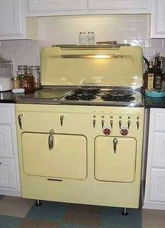 Vintage stove / range