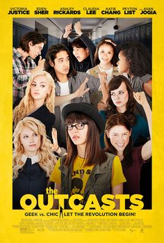 Le reiette - The Outcasts The Outskirts USA: 2015 Genere: Commedia Durata: Regia: Peter Hutchings Con: Eden Sher, Victoria Justice, Peyton List, Teen Movies, 2015 Movies, Comedy Movies, Good Movies, Movie Film, Movies Free, Indie Movies, Iconic Movies, Popular Movies