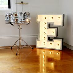 Awesome way to glam up the bedroom!