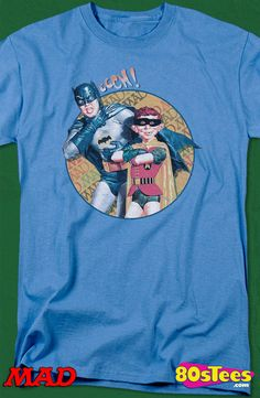 Batman Cover Mad Magazine T-Shirt: Mad Magazine Mens T-Shirt