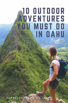 10 Outdoor Adventures You Must Do in Oahu    Adventures in Oahu    Best Outdoor Activities in Oahu    Outdoor Adventure Guide to Oahu    Hawaii really is a slice of paradise, especially Oahu with four diverse sides. From the wave rich North Shore, to the mountainous east side, to the hipster south side; & the desert-like west side, Oahu's got plenty of outdoor adventure