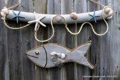 what a great craft for the kids this summer at the cottage! starts with stick hunting ....