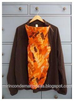 Hay gran variedad de abrigos de porteo en el mercado, pero suelen ser un poco caros, no es fácil probarlos antes de comprarlos y no sabes si...