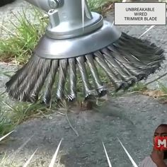 Yard Tools, Garage Tools, Cool Inventions, Useful Life Hacks, Lawn Care, Lawn And Garden, Garden Grass, Flowers Garden, Garden Art