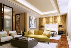 light printed silk panelled feature wall bedroom china