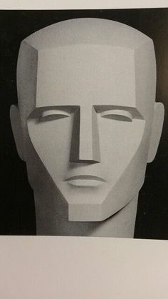Highly simplified Head Model for Comic Book Illustration Drawing Heads, Body Drawing, Figure Drawing, Art Drawings, Sculpture Head, Abstract Sculpture, Planes Of The Face, Geometric Face, Face Anatomy