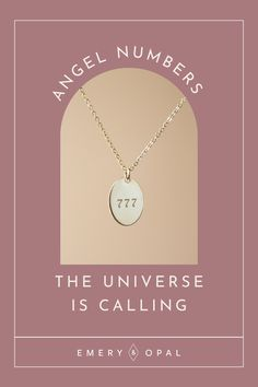 Our Angel Number necklaces are here to help guide you! This is your sign ✨ #angelnumbers #777 #luckynecklace Gifts For Your Sister, Best Friend Gifts, Gifts For Friends, Dog Tag Necklace, Gold Necklace, Angel Numbers, Self Love, Opal, Sisters