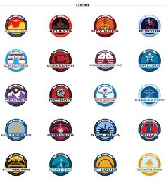 Sports Blog Nation re-designs their website. Fraser Davidson designs about 350+ logo/icons for their blogs.