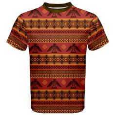 CowCow Mens Brown Eagles Ethnic Style Pattern Tribal Native American Sport Mesh Tee American Sports, Native American, Tribal Patterns, Ethnic Style, Ethnic Fashion, Pattern Fashion, Eagles, Aztec, Mesh