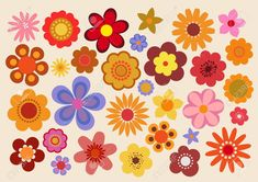Find Vintage Flowers stock images in HD and millions of other royalty-free stock photos, illustrations and vectors in the Shutterstock collection. Thousands of new, high-quality pictures added every day. Hippie Flowers, Retro Flowers, Vintage Flowers, Retro Kunst, Retro Art, 60s Art, Retro Wallpaper, Flower Wallpaper, Flower Graphic Design
