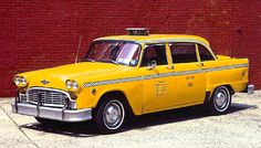 Checker Taxicab, 1952-1986 More people use mass transit in New York than in any other American city. But no other city is so dependent on taxis. From 1952 to 1986, Checker Motors in Kalamazoo, Mich., manufactured the A8/Marathon. Thousands of the bulky cabs clogged New York's streets. They came in all colors until 1970, after city officials required in the 1960s that taxis be painted yellow. During the Depression, when drivers outnumbered  read more