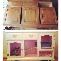 DIY bunny hutch!! That I made Myself