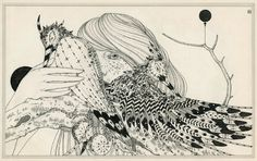 New York-based artist Ernesto Caivano is known for his intricate ink and graphite drawings that reference such diverse sources as Asian screen painting and scrolls, archaeology, Art Nouveau decoration, physics, geometry, technology, botany, and medieval and Renaissance literature and fairy tales.