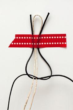 Idee fai da te :: I bracciali da uomo con i dadi e le rondelle