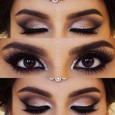 The beauty of dark brown eyes is immense. But if you know how to accentuate what is already there, correctly, you will always look gorgeous! #makeup #makeuplover #makeupjunkie#eyemakeup