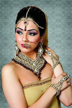 indian kundan bridal jewelry