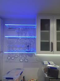 Billedresultat for led light glass shelves