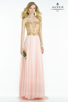 The Hottest Dress Designer hands down! Alyce Paris.  Check out their dresses at alyceparis.com Alyce | Prom Dress Style #6575 #http://pinterest.com/alyceparis