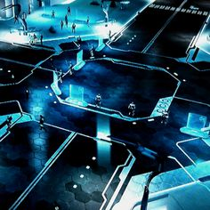 Welcome to The Grid. Game: Tron