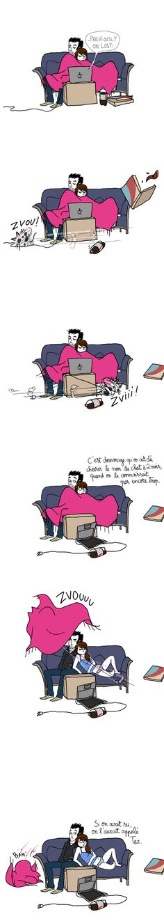 - Taz le chat, par Pénélope Bagieu -