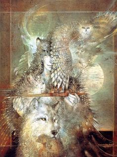 Susan Seddon Boulet is a master!!  Could I do something in a similar style digitally?