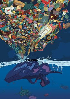Ocean waste builds up. This artist reveals out there.Ocean plastic is piling up. Barry Rosenthal shows his sizeSave the ocean.be il .Save the ocean. Ocean Pollution, Plastic Pollution, Waste Art, Save Our Earth, Save Our Oceans, Trash Art, Sneaker Art, Plastic Art, Watercolor Art
