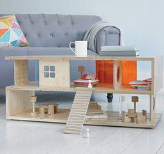De Qubis Haus is een moderne salontafel én een prachtig poppenhuis in één. Het twee verdiepingen tellende huis is in te richten met allerlei accessoires. Je kunt hem dus helemaal naar eigen wens invullen, keer op keer. Hoe leuk is dat?