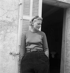 Eileen Agar (1899-1991) – Photograph of Lee Miller at Hotel Vaste Horizon, Mougins, France, Sep 1937