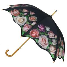 Double Layer Inverted Inverted Umbrella Is Light And Sturdy Romantic Floral Pattern Wreathes Texture Reverse Umbrella And Windproof Umbrella Edge Nig