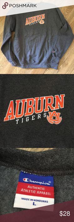 NWOT Men's Auburn Sweatshirt, size Large New without tags, Champion Men's Auburn Tigers Sweatshirt, size Large, 50% cotton, 50% polyester. Champion Shirts Sweatshirts & Hoodies