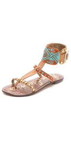 Sam Edelman Gabrianna Ankle Cuff Sandals | SHOPBOP
