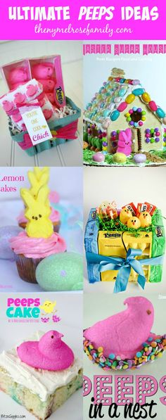 Ultimate Peeps Ideas Collected by The NY Melrose Family