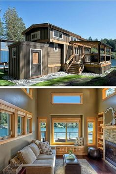 A Stunning Tiny House On Wheels By Heirloom Called The Hawaii Targeting Clic Yet Modern Style Our Motto Here At O Lagio Pinterest