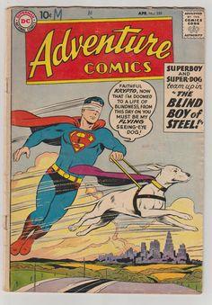 Adventure Comics V1 259 Golden Age Comic by RubbersuitStudios #comicbooks #superboy