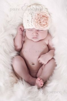 Knit Baby Hat Pattern -- Chunky Elf and Beanie Hat -- PDF