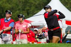 LPGA fan, Eric Stewart looks at the ongoing dominance of international players on the women's golf tour. Lpga Players, Lpga Tour, Golf Tour, Professional Women, Ladies Golf, Motorcycle Jacket, Swimsuits, American, Celebrities