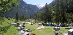 Camping Molignon – Arolla, Les Haudères, Val d'Hérens, Valais