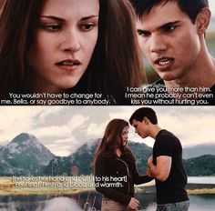 The Twilight Saga Eclipse Pic Of Bella And Jacob ❤
