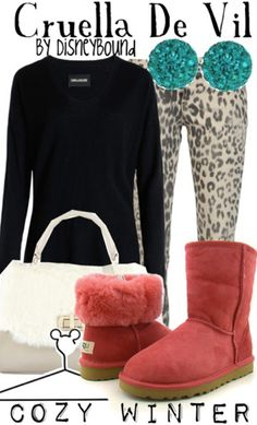 Cruelly De Vil Disneybound I would totally wear those boots