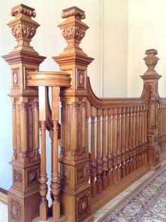 Morozov mansion jacobean staircase. 8 916 591 78 95