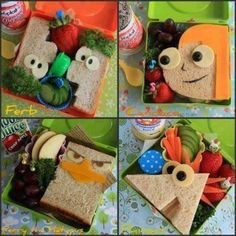 I have made Perry & Candace so far...Mason loves them! What a great surprise for any kid to get in their lunch box!