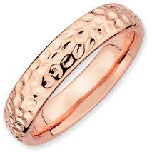 Dearly Beloved Silver Stackable Pink Ring. Sizes 5-10 Available Jewelry Pot. $34.99. 100% Satisfaction Guarantee. Questions? Call 866-923-4446. Your item will be shipped the same or next weekday!. Fabulous Promotions and Discounts!. 30 Day Money Back Guarantee. All Genuine Diamonds, Gemstones, Materials, and Precious Metals