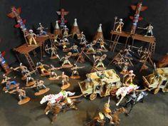 Reserva Indigena Com 96 Peças Indios Forte Apache - R$ 199,99