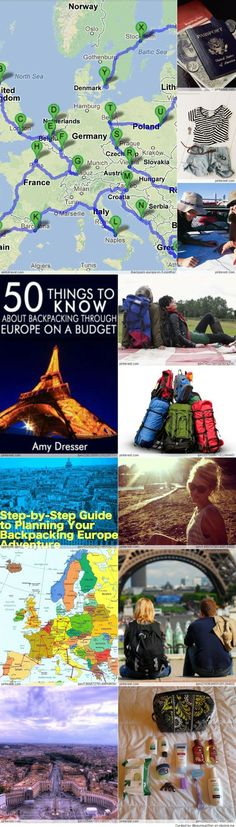 *Backpacking Europe #traveling #holiday