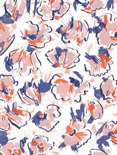 floral print by ainamsnape www.ainamsnape.com Surface Pattern Design, Pattern Art, Textures Patterns, Print Patterns, Spider Art, Cloth Flowers, Atonement, Texture Art, Pattern Wallpaper