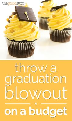 Congrats, grads! Celebrate with a special party that won't break your budget.