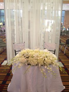 Charmant Bride And Groom Table | Events By Baez Party Productions | Pinterest | Bride  Groom Table